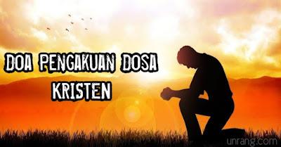 Doa pengakuan dosa Kristen