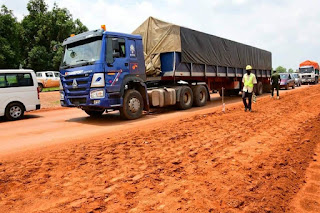 MINNA-BIDA ROAD CONSTRUCTION, NIGER STATE GOVERNMENT TO BAN ARTICULATED VEHICLES FROM PLYING THE ROUTE