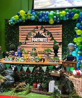 24 ideas para Fiesta de Cumpleaños Fortnite 8