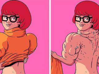 Artista mostra o lado invisível de personagens populares