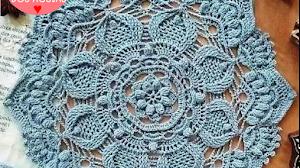 Patrones de Centro de mesa a Crochet