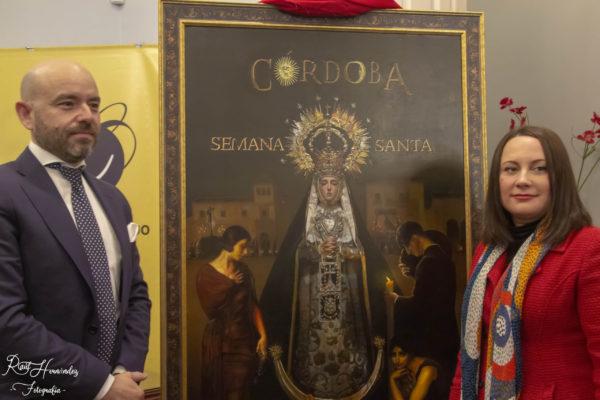 Fernando Vaquero, cartelista de la Semana Santa de Ronda 2021
