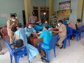 Pendampingan vaksinasi di Desa Teluk Wetan Jepara