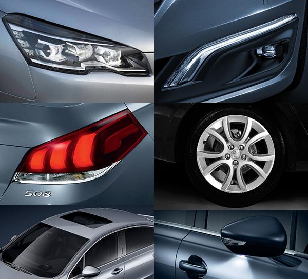 Peugeot 508 ngoại thất