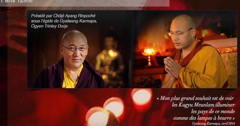 Miroir du dharma 4 me kagyu monlam france pr sid par for Miroir du dharma