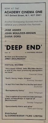 BLACK HOLE REVIEWS: Flashback 1971 - THE DEVILS, DEEP END