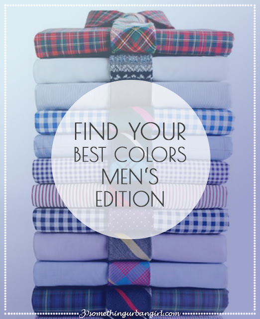 Find your best colors with seasonal color analysis men's edition by 30somethingurbangirl.com