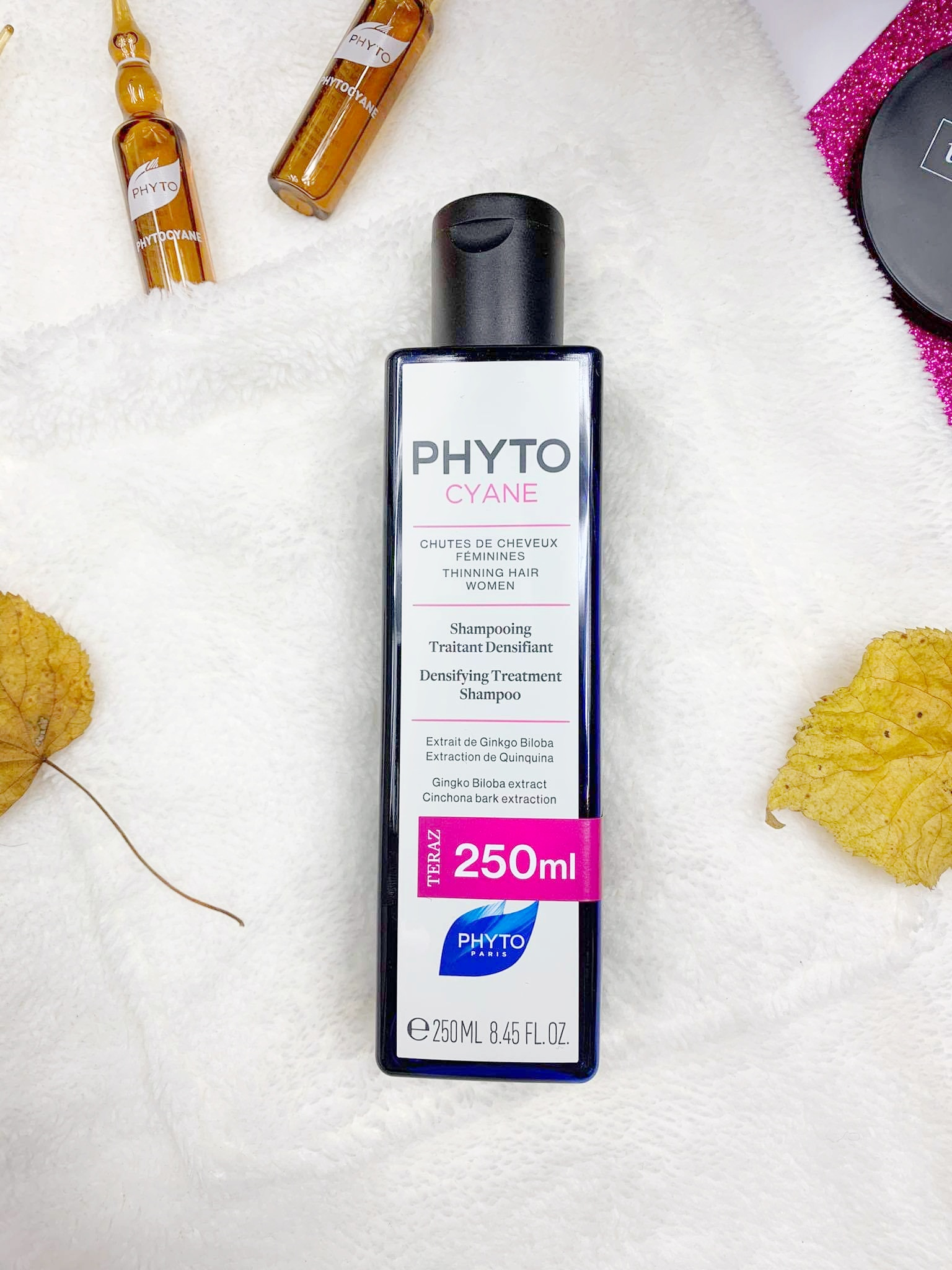 Phytocyane szampon i ampułki, Topestetic