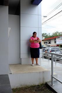 woman in Santiago de Puriscal