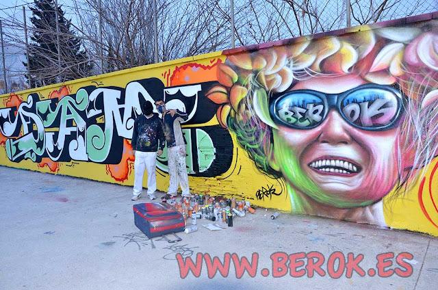 Graffitis Dam Trs