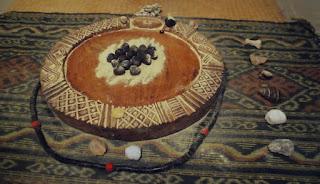 os Odu de Ifá - Orunmilá - ikins - jogo - 256 - 16 mejis