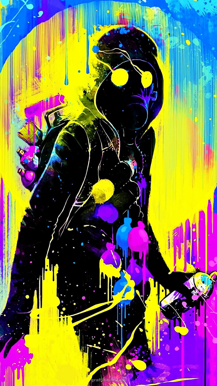 Graffiti, Wallpapers, Mobile, Handys, Android, iPhone, Hintergründe