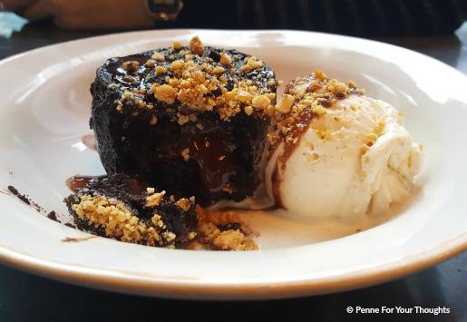 Praline Pudding at Jamie's Italian Birmingham