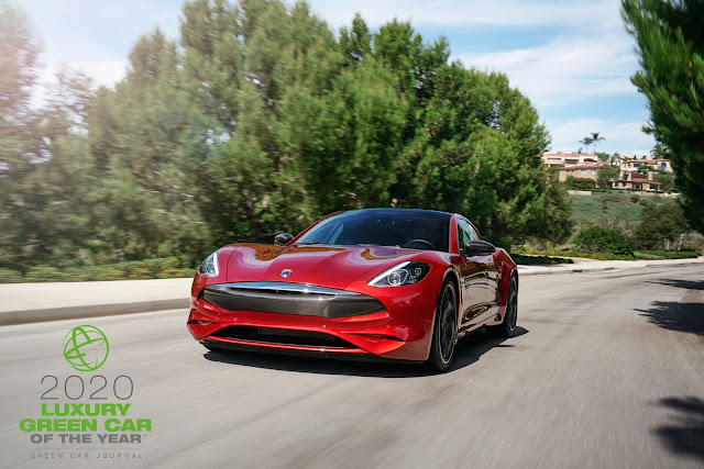 Karma Revero GT Named 2020 Luxury Green Car Of The Year