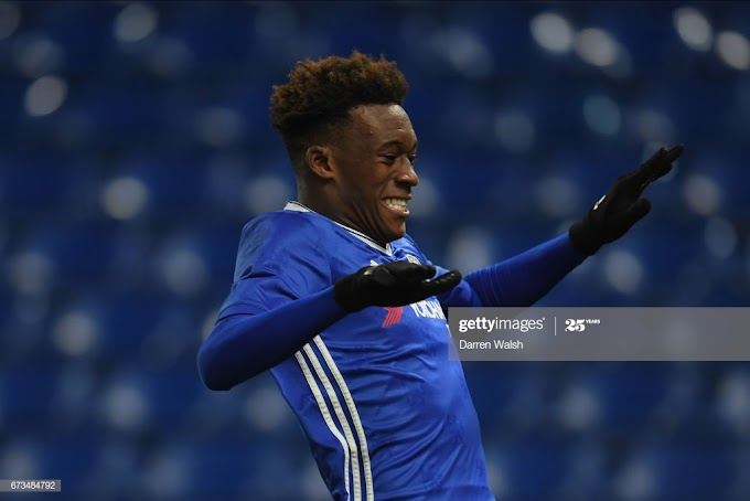 Chelsea winger Callum Hudson -Odoi falls sick after the first day in training