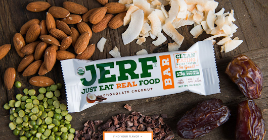 J.E.R.F.? Just Eat Real Food ...