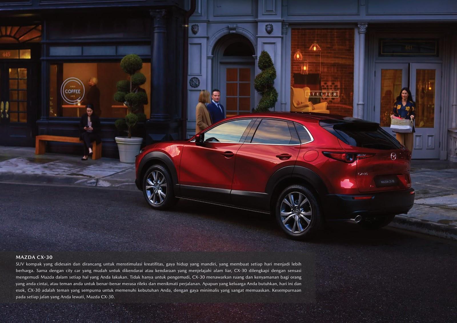 New Mazda CX-30, Promo Mazda CX-30 Bali & Harga Mazda CX-30 Bali
