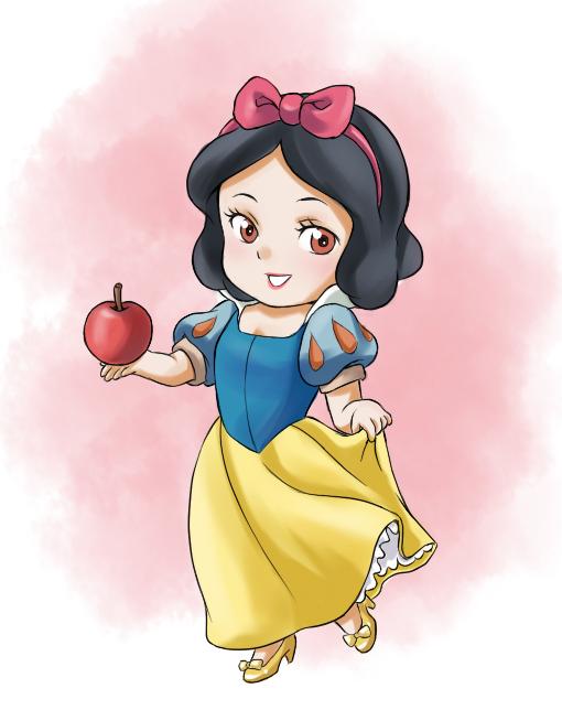 Snow White chibi công chúa Nàng bạch tuyết 4