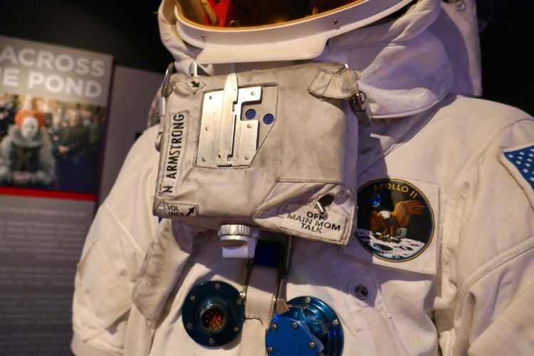 First Man N Armstrong Apollo A7L NASA spacesuit detail