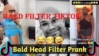 Bald filter Tiktok: How to get the bald filter on Tiktok