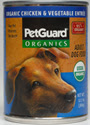 Picture of Petguard Organic Chicken and Vegetable Entree Canned Dog Food