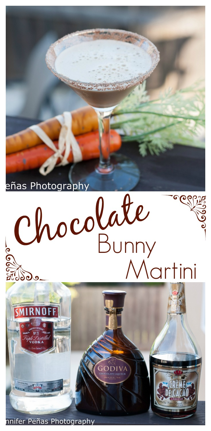 Chocolate Bunny Martini - A Year of Cocktails