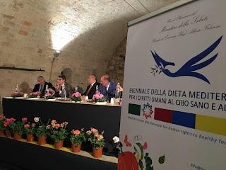 «Μπιενάλε της Μεσογειακής Διατροφής για τα Ανθρώπινα Δικαιώματα»