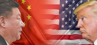 الحرب التجارية المتصاعدة بين الولايات المتحدة والصين