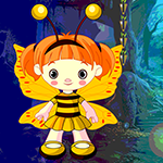 Games4King Butterfly Girl Escape Walkthrough