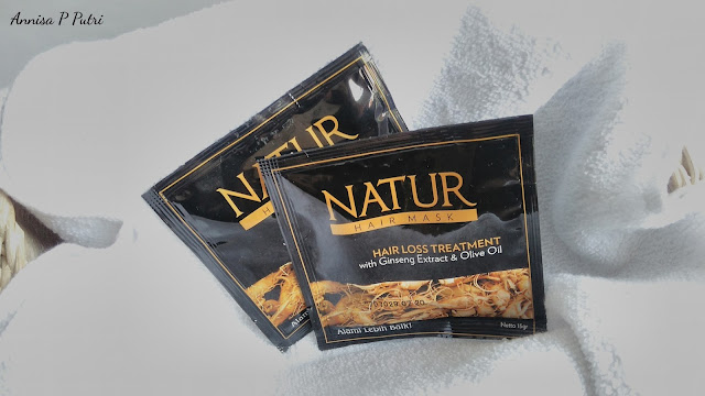 www.annisaputri.com | NATUR Hair Care - Hair Mask