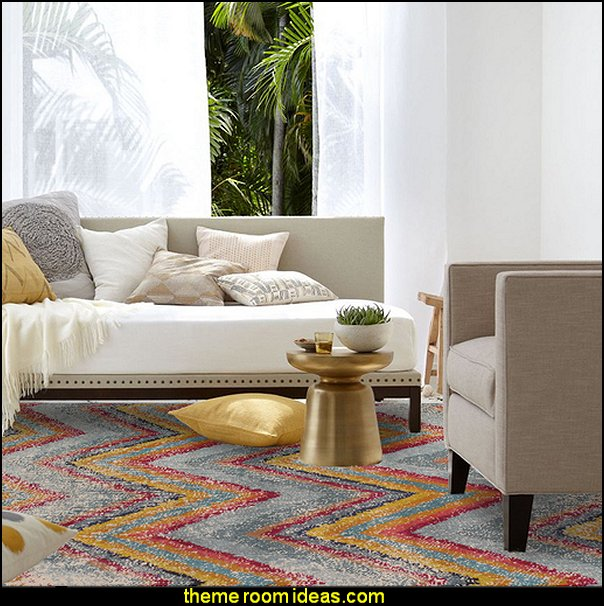 Zig Zag Rug chevron rugs chevron decorating