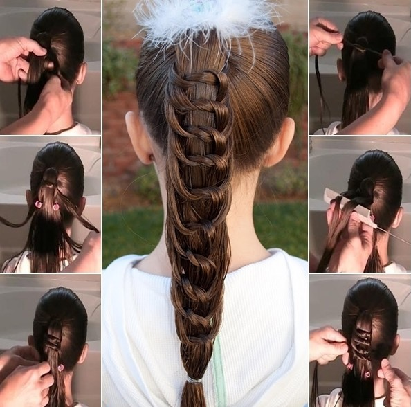 Cool Braided Ponytail Hairstyles Hair Color Trends Short Hairstyles Gunalazisus