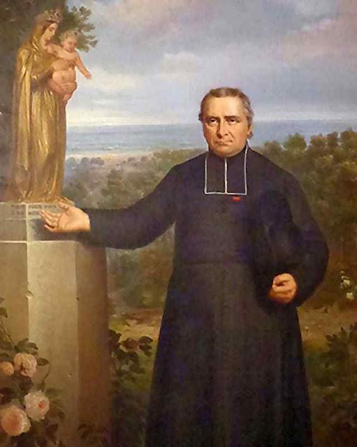 Beato Louis-Édouard Cestac (1801 - 1868), quadro en base a foto
