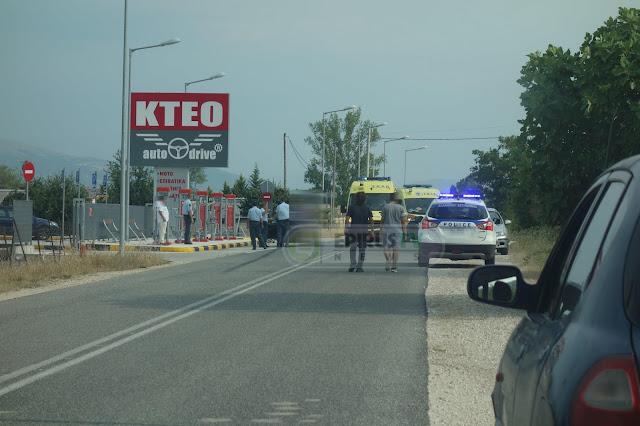 Γιάννενα:Τροχαίο Με Ποδηλάτη Στον Παράδρομο Της Περιφερειακής Οδού [Φωτό]
