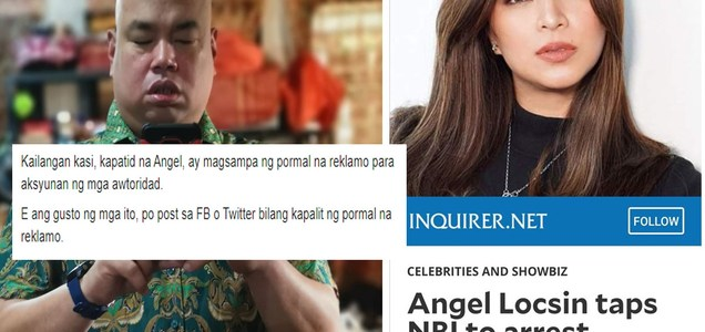 Ex-DLSU Prof comments on Angel Locsin calling out NBI to probe death threats she receives from troll | PTN