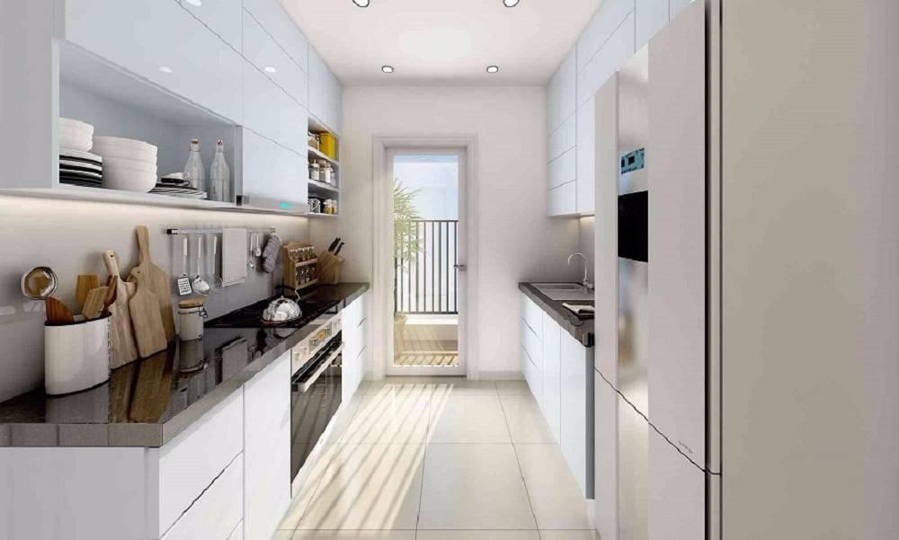 Phòng bếp lux riverview