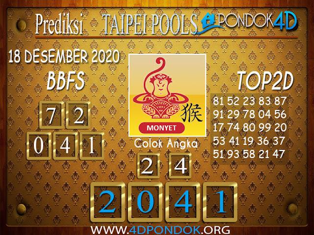 Prediksi Togel HONGKONG PONDOK4D 18 DESEMBER 2020