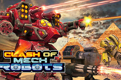 Download Game Android Clash of mech robots Apk