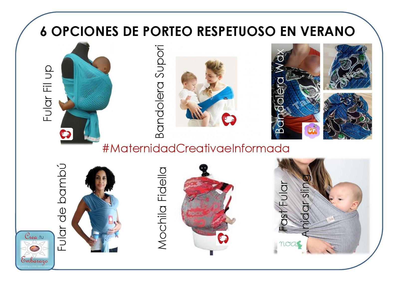 elegante y elegante tiendas populares claro y distintivo CREA TU... EMBARAZO DE COLOR: #RETOBIERZOPORTEO: PORTEAR EN ...