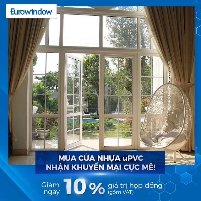 Cửa nhựa uPVC Eurowindow