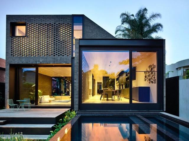 Luxuriöses Gewächshaus-Design