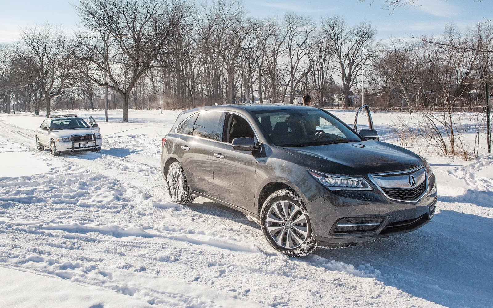 Us Border Patrol Could Not Believe That Their Vehicle Outperform The Mdx In Deep Snow As Stated Previously I Used Usually Florida Where We