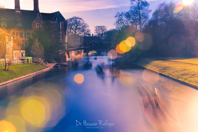 Photo: City Motion - Punting on River Cam