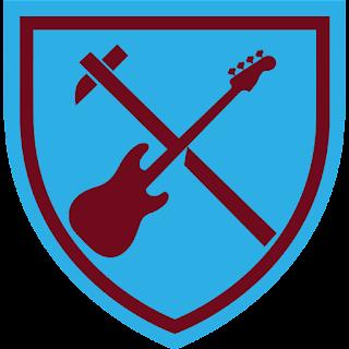 West Ham x Iron Maiden logo