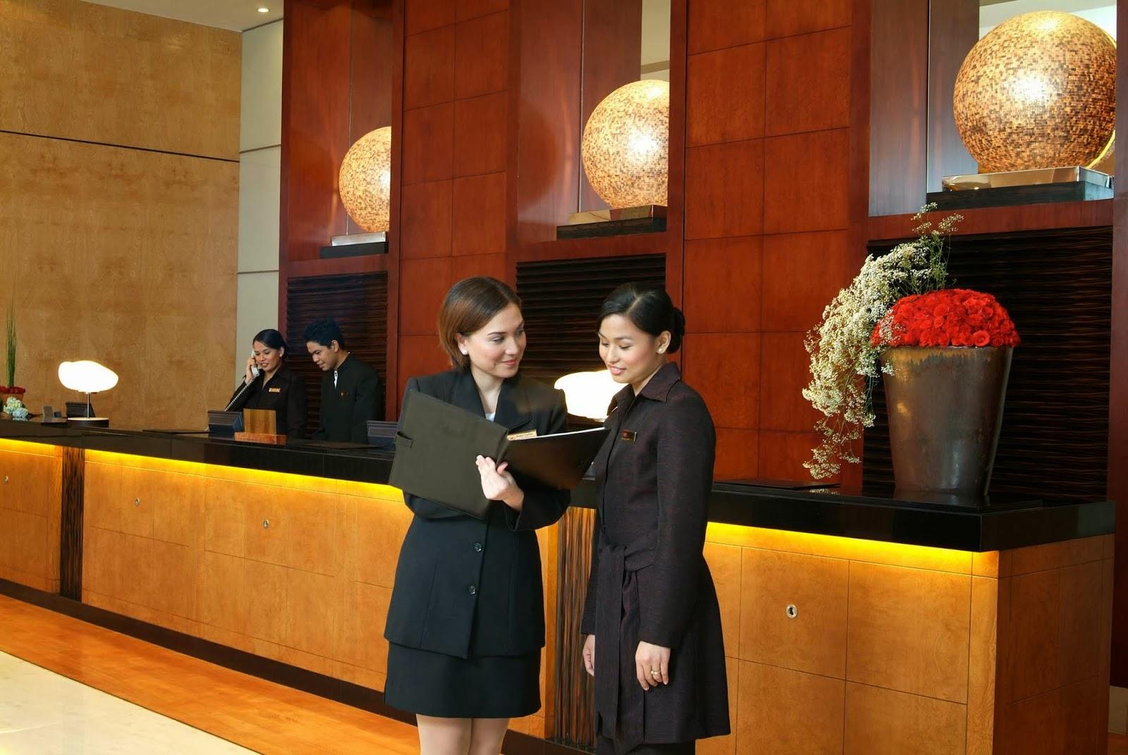 lớp tiếng anh chuyên ngành lễ tân khách sạn