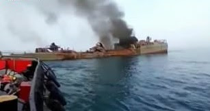 19 dead and 15 injured after Iranian navy accidentally sank one of its own warship