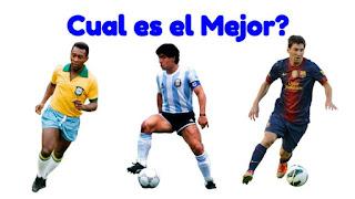 Pele, Maradona o Messi
