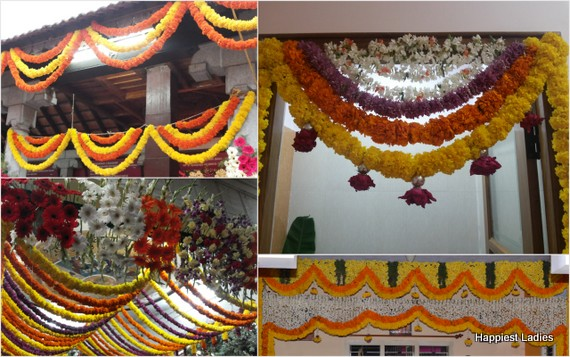 indian traditional floral decorations