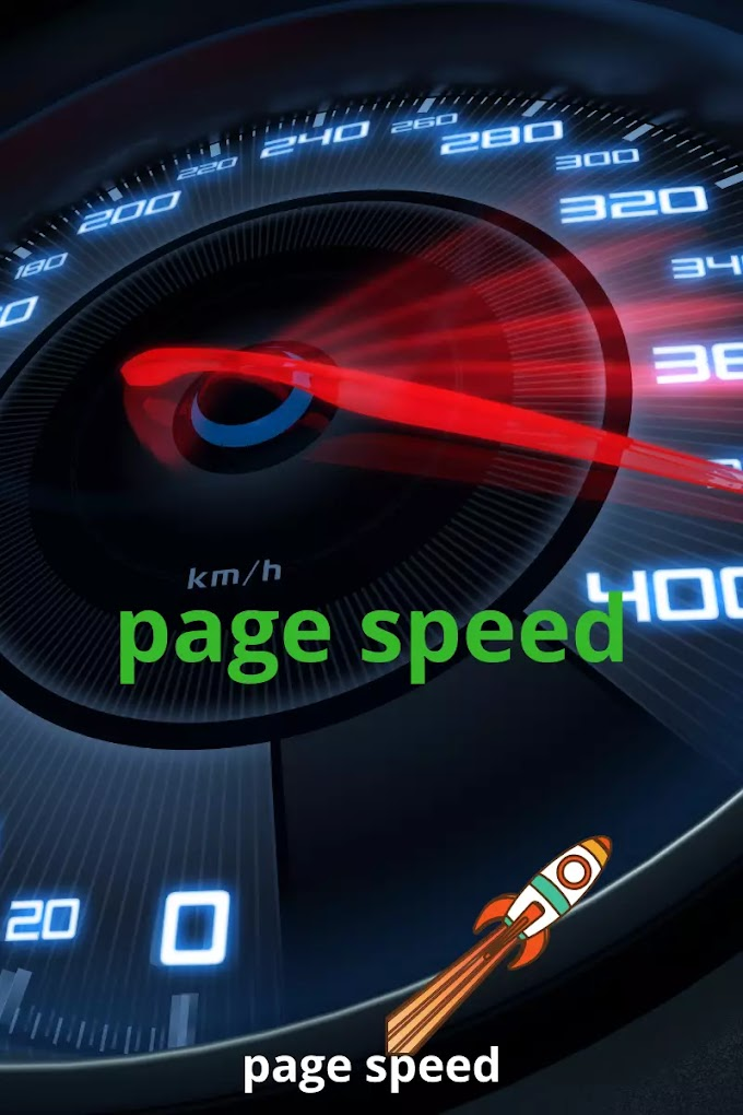 Increase your blogger page speed