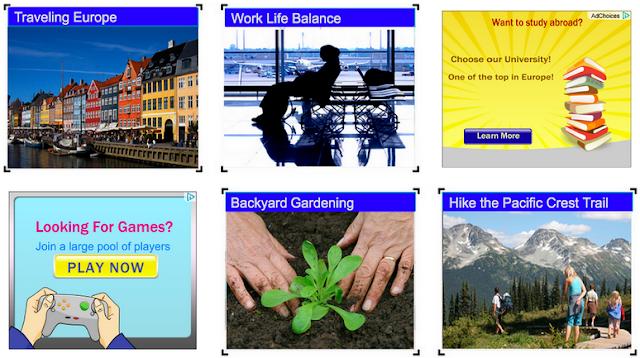 مثال عن عملية تنفيذ مرفوضة لإعلانات أدسنس